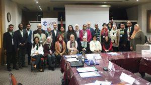 Representatives of the awarded organisations: APN, Rasheed TI, UTI, UAWC, LCPS, ISTIDAMA, IYCY