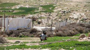 Bedouins in Massafer Yatta area, Hebron, Photo: UN-Habitat (2015)
