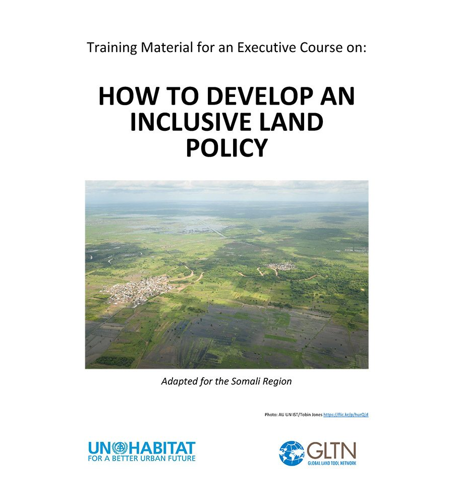 Training Material for an Executive Course on How to Develop an Inclusive Land Policy (English)